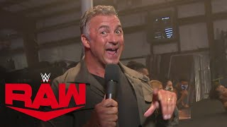 Shane McMahon introduces Raw Underground: Raw, Aug. 3, 2020