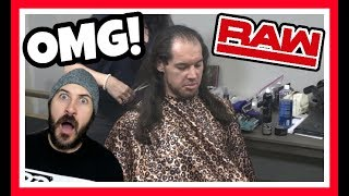 REACTION   BARON CORBIN GETS A DRAMATIC NEW LOOK!!!   WWE RAW JUNE 11, 2018