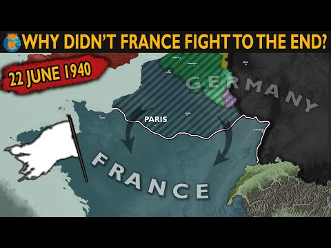 Why didn't France fight to the end in 1940?