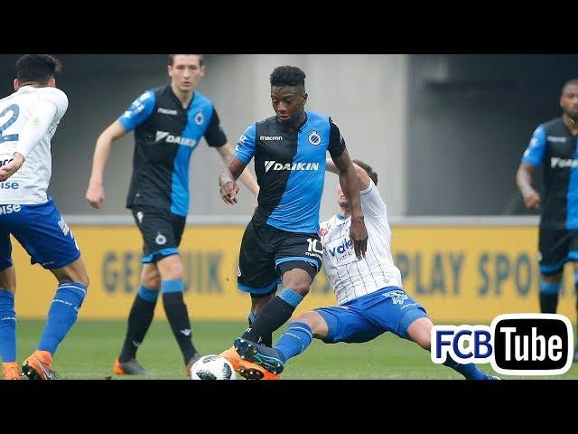 2017-2018 - Jupiler Pro League - PlayOff 1 - 02. AA Gent - Club Brugge 1-0
