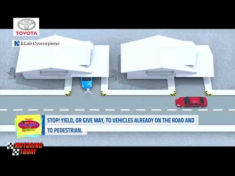 Stop! Yield, or Give Way to Vehicles Already on the Road and to Pedestrian   YSS Road Safety Tips