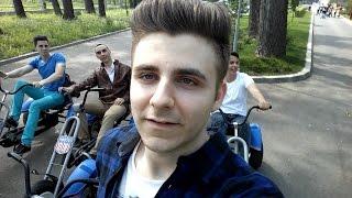 iRafael se plimba cu Tricicleta