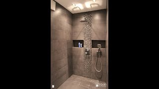 50 plus modern washroom niche design / toilet niche