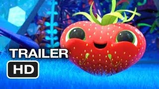 Cloudy with a Chance of Meatballs 2 THEATRICAL TRAILER (2013) - Anna Faris Movie HD