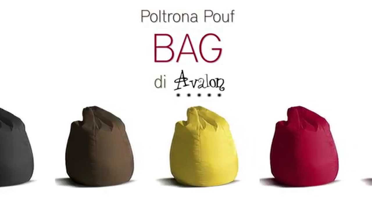 Poltrona sacco Pouf di Avalon Bag  YouTube