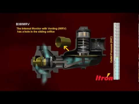 Itron Natural Gas Pressure Regulator