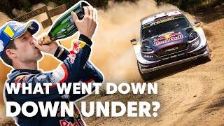 Top 5 Moments from WRC Rally Australia   WRC 2018