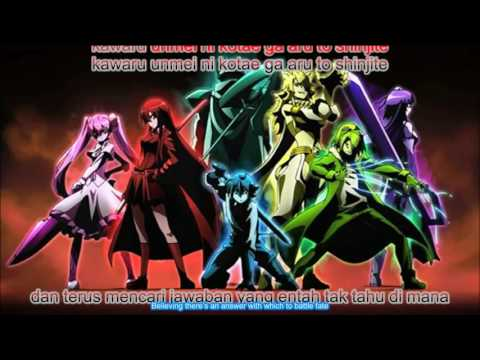 Akame ga Kill OP Skyreach lyrics