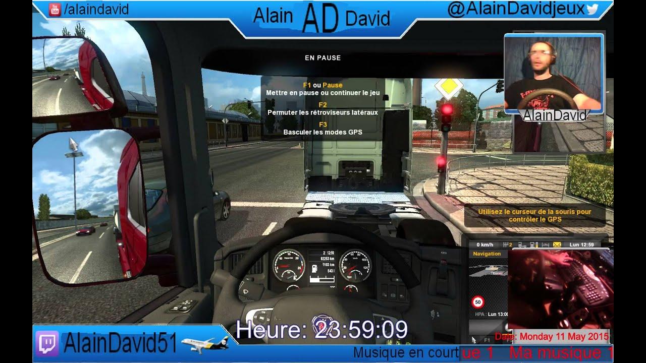 Euro Truck Simulator 2 - Multiplayer. Si comme moi, vous avez aimé Euro Truck Simulator 2 (on parle pas du 1 sinon on est malpoli), je pense que vous allez apprécié ceci.