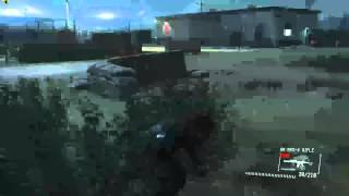 Metal Gear Solid V  Ground Zeroes PC Gameplay GTX 970 1080p Ultra Settings