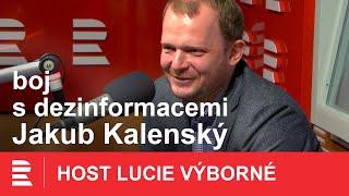 Jakub Kalenský: Očkujeme publikum, aby nepodlehlo nové dezinformaci