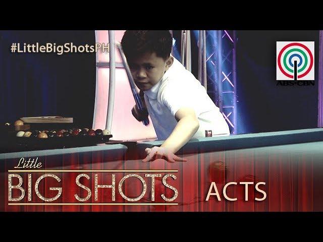 Little Big Shots Philippines: Keane | 13-year-old Junior Billiards Master