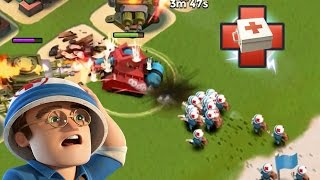 ONE SCORCHER ALL MEDICS | Boom Beach | SPAM THE HEAL