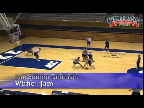 Open Practice: Team Practice Drills with Mike Krzyzewski