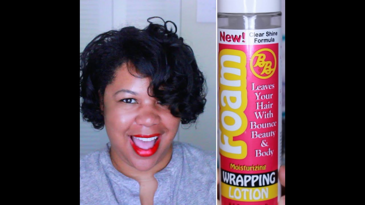 1 Product Wet Set On Natural Hair YouTube