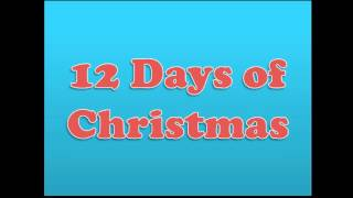 12 (Groovy) Days of Christmas