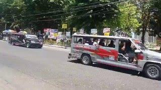 Riding a Jeepney in Iloilo, Philippines