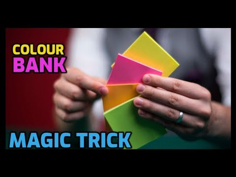 ONLINE MAGIC TRICKS TAMIL I ONLINE TAMIL MAGIC #130 I COLOUR BANK