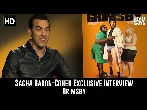 Sacha Baron Cohen Exclusive Interview - Grimsby