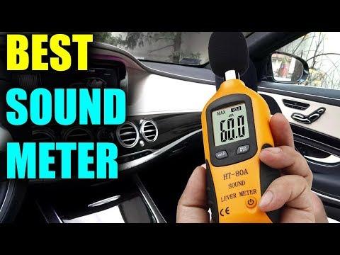Best Sound Level Meter - Best Digital Audio Decibel Meter 2019