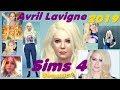 Поделки - Avril Ramona Lavigne  2019 SIMS 4 (Аврил Лавин в Симс 4)