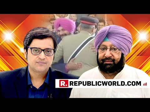 Captain Amarinder Singh Speaks Exclusively With Arnab Goswami, Slams Rahul Gandhi