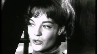 Romy Schneider, Annie Girardot - Interview (1961)