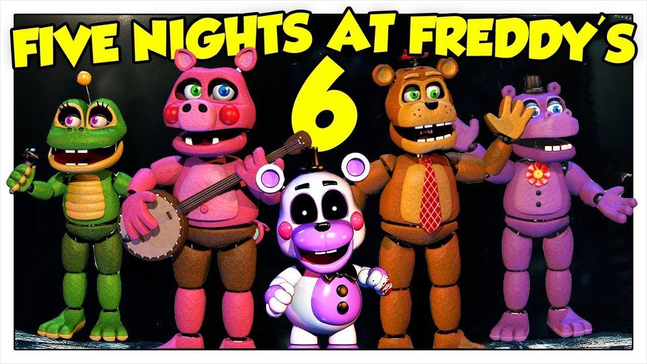 Sono Ita Arrivati Five I AnimatronicsFnaf Nights 6 At Nuovi 0k8nwPNOX