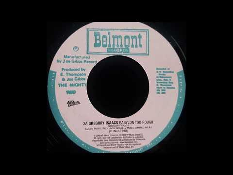 GREGORY ISAACS - Babylon Too Rough [1976]