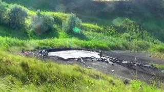 видео Грязевые вулканы на Азовском море