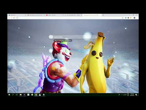 Best Peely Banana Skin Fortnite Hd Wallpaper Theme Must Have Youtube