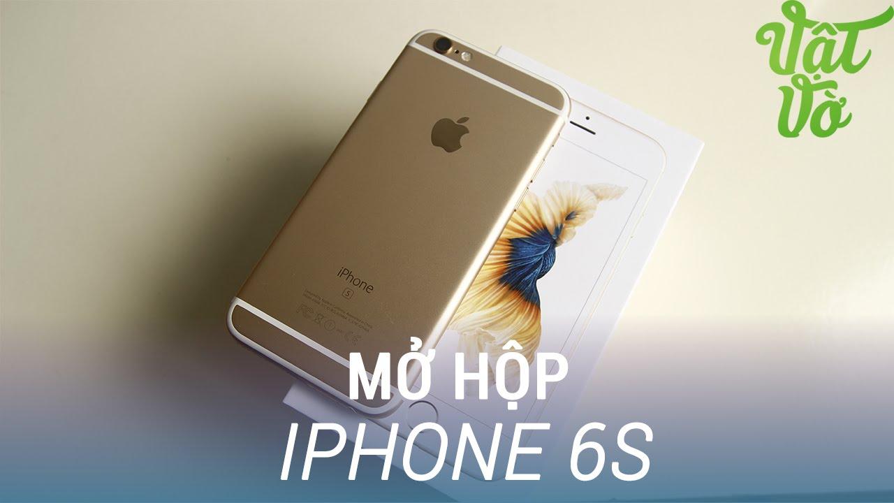 Vật Vờ| Mở hộp & đánh giá nhanh Apple iPhone 6s: khác gì so với iPhone 6
