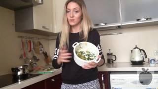 Куриный салат / салат из курицы, богатый белком  ♡ #1