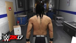 WWE 2K17 Gameplay - New OMG Moments, Backstage, Ladder Match (WWE 2K17 PS4 Demo)