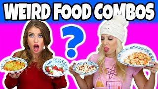 Weird Food Combinations People Love (2018 Challenge)