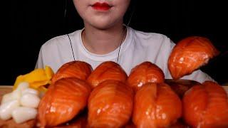 대왕연어초밥먹방 NO TALKING MUKBANG