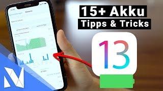 iOS 13 - Mit diesen 15+ Tipps & Tricks hält dein iPhone Akku deutlich LÄNGER! | Nils-Hendrik Welk