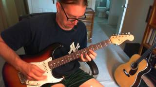 Dwight Yoakam A Thousand Miles from Nowhere (guitar solo) (cover)