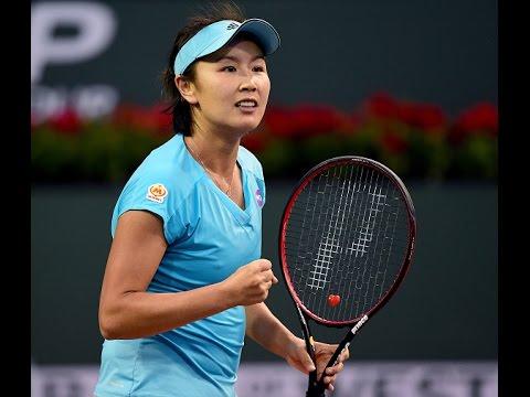2017 BNP Paribas Open Third Round | Peng Shuai vs Agnieszka Radwanska | WTA Highlights
