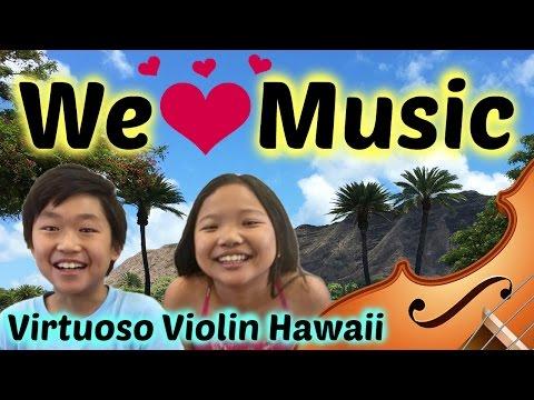Let's Go to Our Violin Studio! | Virtuoso Violin Hawaii