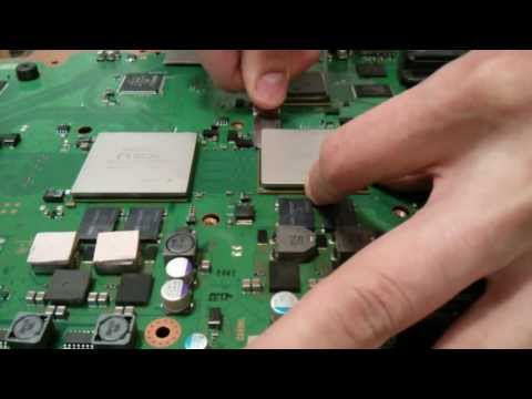 How to remove IHS from PS3 CELL CPU and RSX GPU