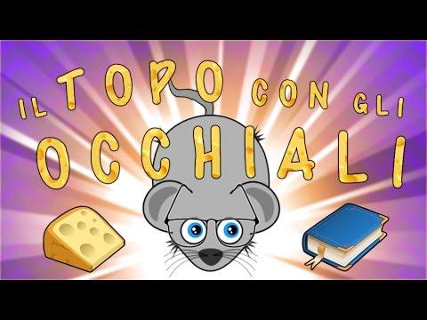 Il topo con gli occhiali - Canzoni per bambini - Baby cartoons - Baby music songs