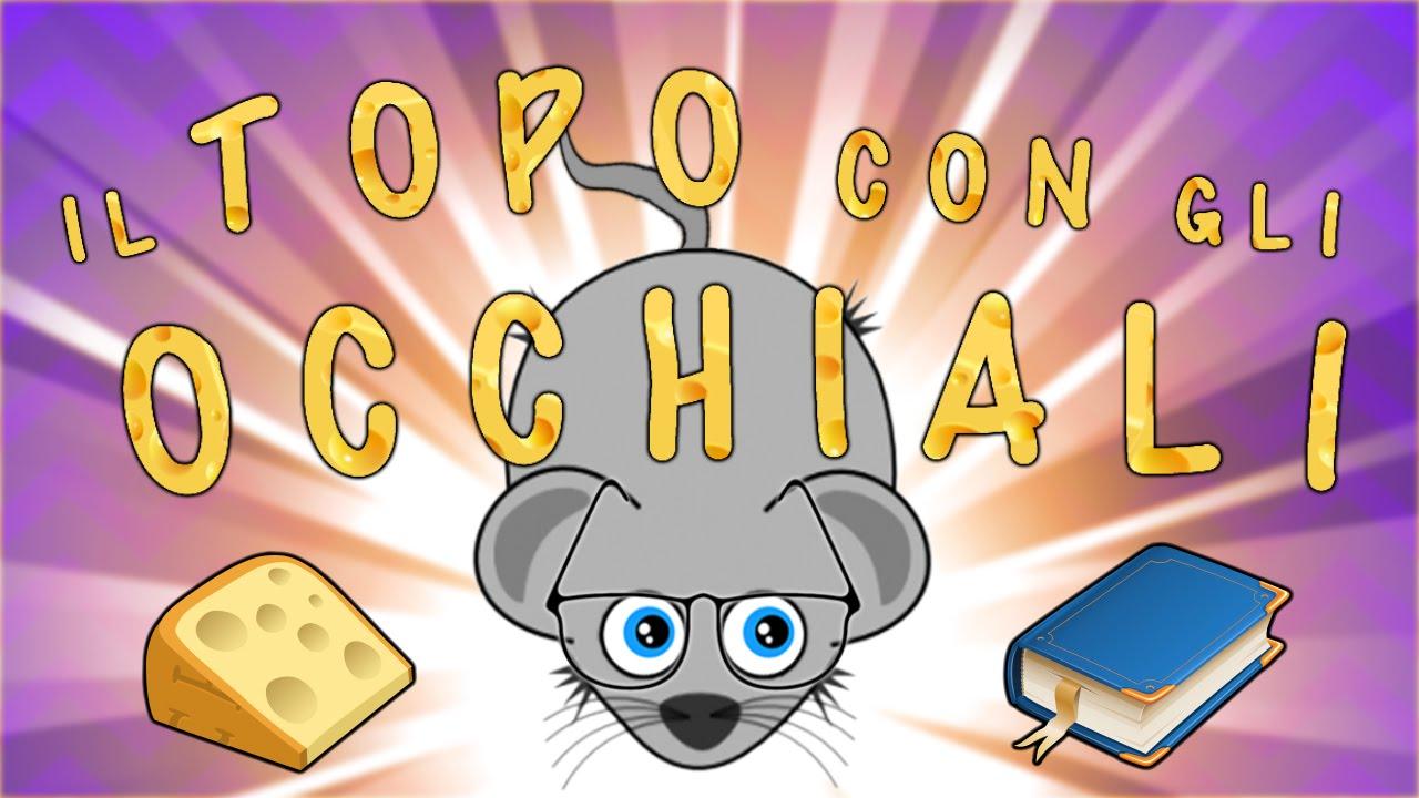 Il topo con gli occhiali canzoni per bambini baby for Bicicletta immagini da colorare