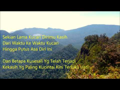 Kandas  with Lyrics Background Mt. Burangrang 2050 Mdpl