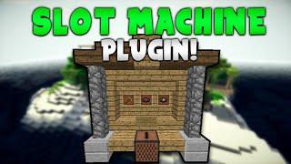 ITEM SLOT MACHINE! | Minecraft Plugin Tutorial