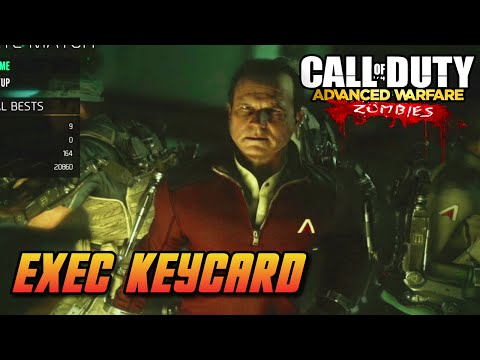 """Exo Zombies"" Main Easter Egg - Step 3 | Exec Keycard Tutorial (COD Advanced Warfare)"