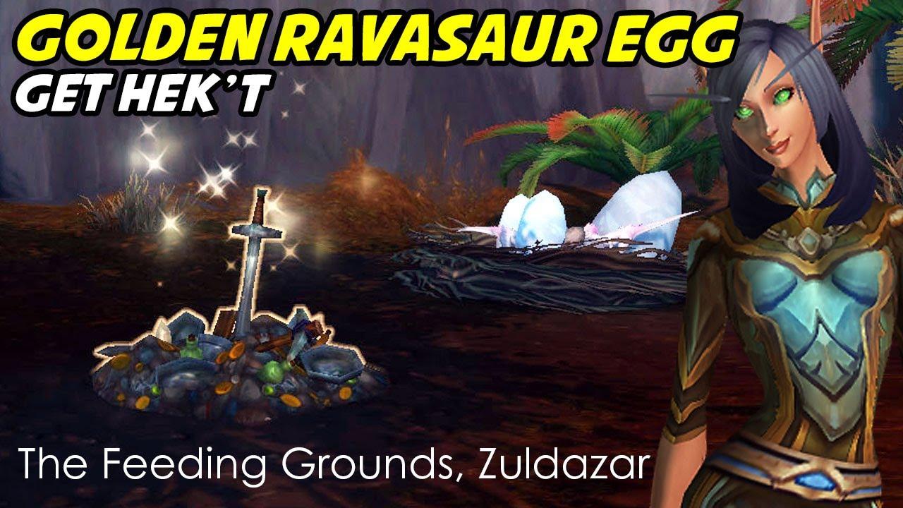 Golden Ravasaur Egg Mysterious Trashpile Youtube