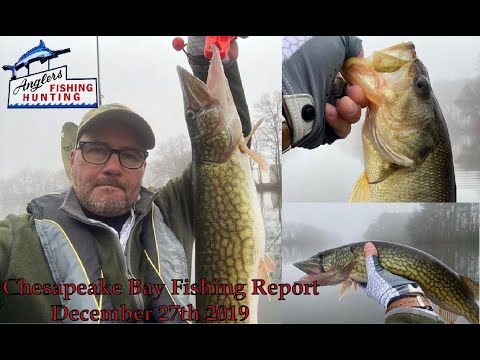Chesapeake Bay Fishing Report December 27th 2019