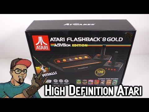 High Definition Atari 2600 Flashback 8 Gold HD Activision Edition AtGames