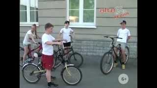 Конкурс велосипедистов
